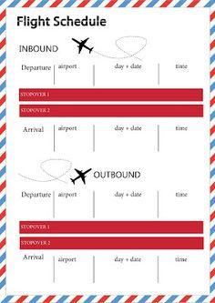 Par Avion: TRAVEL | Free Printable Travel Organiser - http://paravionblog.blogspot.cz/2013/02/travel-free-printable-travel-organiser.html