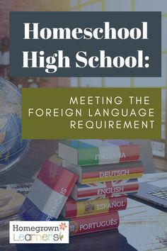 Meeting the Foreign Language Requirement in High School — Homegrown Learners