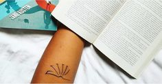 105 Book Tattoos For the Ultimate Reader - If you want to make your adoration for a great story permanent, a book tattoo is an awesome way to d - Henna Tattoos, Hippe Tattoos, Et Tattoo, Hand Tattoo, Piercing Tattoo, Tatoos, Piercings, Tiki Tattoo, Neck Tattoos