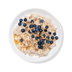 Oatmeal With Blueberries, Sunflower Seeds, and Agave 10 Oatmeal Recipe... ❤ liked on Polyvore featuring food, fillers, food and drink, food & drinks, comida, backgrounds, circle, circular and round