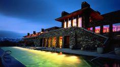 Spend a night at the Amangani Hotel, Grand Teton National Park, Wyoming.
