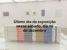 """Último dia da exposição """"Sacilotto - em ressonância"""" amanhã, dia 10 de dezembro!"""