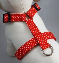 DIY Tutorial: DIY Pet Clothes / DIY Dog Harness Queen of Hearts by gatorgrrl on Etsy - Bead&Cord