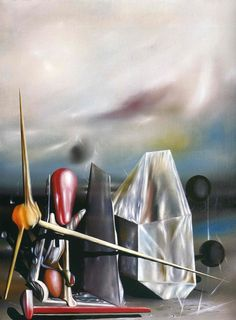 Raymond Georges Yves Tanguy was born January 1900 in Paris, in the Navy Ministry where his father Felix, a retired navy officer . Yves Tanguy, Francis Picabia, Henri Rousseau, Rene Magritte, Max Ernst, Surrealism Painting, Fantastic Art, Surreal Art, Famous Artists