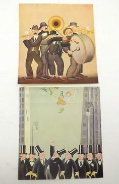 shopgoodwill.com: 2 Vintage BORIS ARTZYBASHEFF Illustration prints