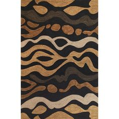 KAS Rugs Milan Charcoal Landscape Rug & Reviews | Wayfair