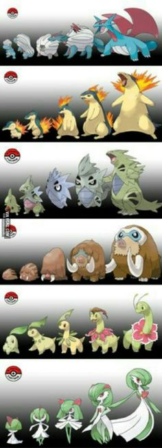 If pokemon didn't evolve all at once (part 3)