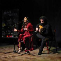 Ana de Caro en la Peña Murcia Flamenca