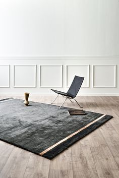 Modern design by Rug Solid, made from bamboo silk and a backside made of recycled cotton. Nordic Home, Scandinavian Home, Danish Design, Modern Design, Bamboo Rug, Interior Styling, Interior Design, Nordic Design, Sustainable Living