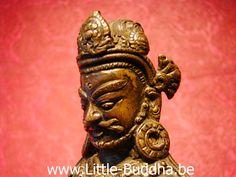 Ruimtelijk portret van brons