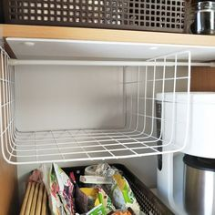 Home Organization Hacks, Pantry Organization, Diy Storage, Locker Storage, Hacks Diy, Diy Room Decor, Home Decor, Diy Kitchen, Declutter
