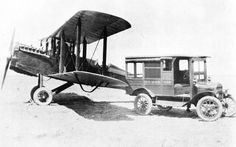 Long before the days of radio (and those convenient little smartphone applications), the US Postal service began a cross-country air mail service using army war surplus planes from World War I, many piloted by former army flyers. To get the planes and everybody's mail safely across the country by air, the postman was going to need a little help. (part 1)