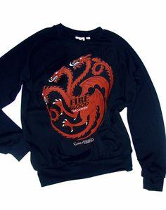 Game Of Thrones Targaryen Dragon Pop Art Unisex Sweatshirt by IDILVICE Fashion.