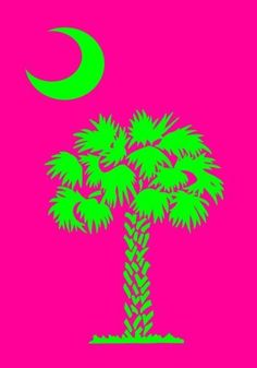 """Pink & Green Palmetto SC Large Flag by Custom Decor. $14.75. By Custom Decor - leading manufacturer of American made decorative flags. Original Artwork is reproduced on 300 denier fabric for Finer Quality Reproduction. Permanently Dyed Designs - visible on both sides of the flag. 100% All Weather Polyester stands up to the weather and is mildew and fade resistant. Machine Washable. This decorative flag is approximately 28"""" x 40"""" and has an opening at top that fits on stan..."""