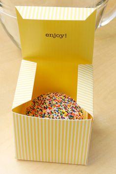 cupcake packaging