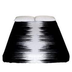 Black and white noise, sound equalizer pattern Fitted Sheet (Queen Size) White Noise Sound, Bed Sizes, Queen Size, Creative Design, Bedding, Black And White, Pattern, Black N White, Sizes Of Beds