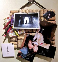 10 Do-It-Yourself Home Decor Resolutions - Put A Cork In It   Gallery   Glo