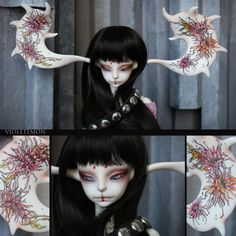 make up and tattoo for Alberta [Doll-chateau]
