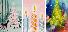 """vintagegal: """" 1950s/1960s Vintage Christmas Cards: part one """""""