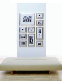 love these frames for the stairs