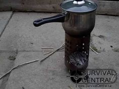 How To Make The Ikea Hobo Wood burning Stove Urban Survival