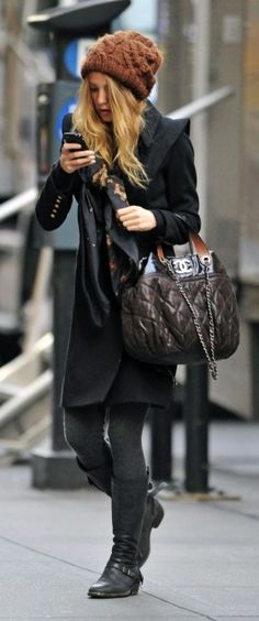 Jacket – Smythe, Purse – Chanel