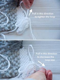Rya Loops | The Weaving Loom