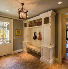 Mudroom entry entry traditional with classic design coat hooks mud room design