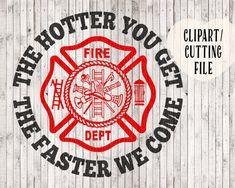 funny firefighter svg fireman svg fire department by goodsbygirl