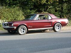 Ford Mustang Coupe 302 cui Bj 1968 , über 90 Bilder in der Auktion Ford Mustang Coupe, Ford Mustang Classic, 1968 Mustang, P51 Mustang, Ford Classic Cars, Ford Mustang Shelby, Mustang Cars, Ford Mustangs, Mustang Wheels