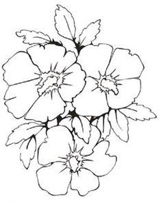 pintura-em-tecido risco flor