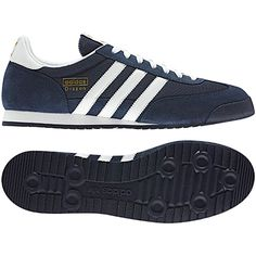 online store 697b0 3b472 Heren Dragon Schoenen, New Navy  Metallic Gold  White, pdp Adidas  Originals Dragon