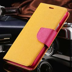 Luxury Flip Case For iPhone's 5 -7 with Leather Wallet Stand