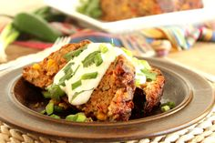 A healthed up version of my favorite turkey meatloaf, loaded with veggies and topped with homemade enchilada sauce. Serve this to football fans at your next game day party! I love meatloaf but it's often loaded with calories…and then you HAVE to serve it with mashed potatoes….which are also, usually, loaded with fat…and carbs. One...Read More »