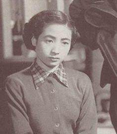 Miyagino Yumiko (宮城野由美子) 1926-, Japanese Actress