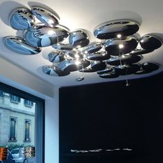 bedroom lighting fixtures Picture - More Detailed Picture about Modern Skydro Soffitto Halo Ceiling Lamp Deckenleuchte Light LED Bulb Parlor Hotel Hall Living Room Bedroom Lighting Fixture Picture in Ceiling Lights from Zhongshan Modern Lighting Factory Lighting Store, Home Lighting, Modern Lighting, Funky Lighting, Lighting Ideas, Lighting Design, Bedroom Light Fixtures, Bedroom Lighting, Halo