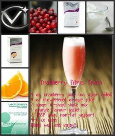 Cranberry Citrus Splash Vi-shake