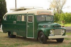 1949 Ford School Bus conversion