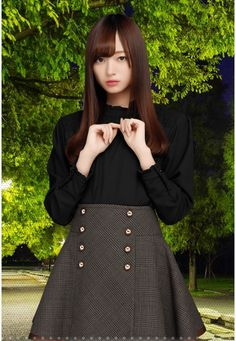 Waist Skirt, High Waisted Skirt, Japanese Love, Asian Beauty, Minami, Kawaii, Womens Fashion, Skirts, College