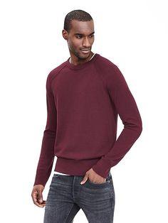 Extra-Fine Merino Wool Crew Pullover