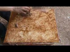 Обалденная имитация камня.Видео МК.