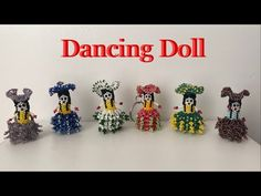 Dancing Dolls, Black Seed, 2 Colours, Diwali, Mother Day Gifts, Seed Beads, Videos, Dance, Christmas Ornaments