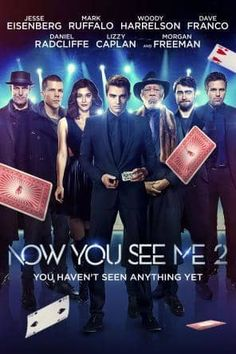 Now You See Me 2, Movie on DVD, Action Movies, Suspense