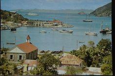 Gustavia en 1975