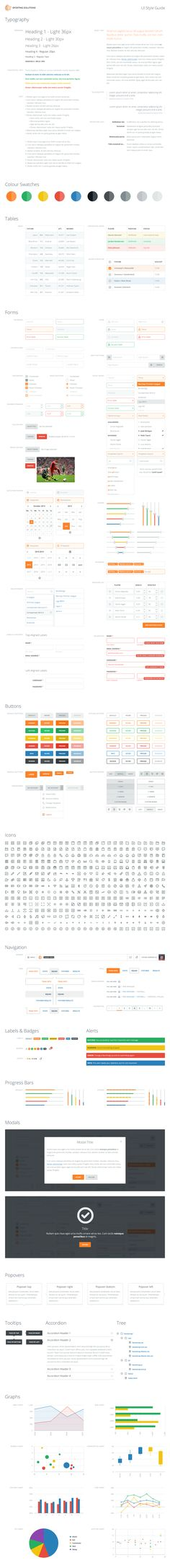 A very extensive UI Style Guide