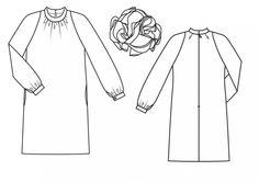 Платье: Burda 11/ 2013/ 104 / Burdastyle
