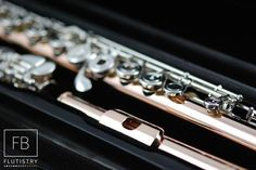 Brannen Flute - 10k Gold/Silver