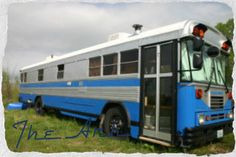 A family concerned with disaster prepping designed their very own 'bug out bus' as a totally mobile, stocked home that could enable them to flee from life-threatening situations – or just go on vacation.  Bug Out Bus: Preparing & Designing The Ark. Bluebird Bus. *Original blog posted 5/7/2012 with full description.  <O>