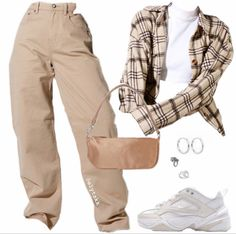 Swaggy Outfits, Baddie Outfits Casual, Cute Swag Outfits, Indie Outfits, Teen Fashion Outfits, Retro Outfits, Stylish Outfits, Polyvore Outfits Casual, Tomboy Fashion