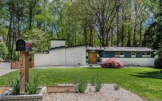 Mid-century Modern With Unique Exterior For Only $425K Address: 2649 Havermill Way NE, Atlanta, GA 30345 Neighborhood: Dekalb 4 Beds | 3 Baths | 2,520 sqft | Built in 1963 | Listed on 04/12  The owner put a lot of work into the front entrance.